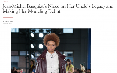 Founder Jessica Kelly Walks Coach Runway & Interview's With Vogue Magazine